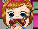 Baby Melisa Throat Doctor