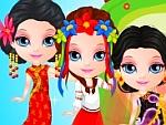 Baby Princess Around The World Costumes