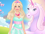 Beauty and Unicorn Dress Up
