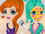 Fashionable Gadget Girl Makeover