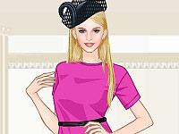Sweetygame baby pink fashion dress