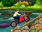 لعبة جاستن بيبر وركوب الدراجة