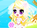 Pretty Girl's Wedding Dream Dress Up