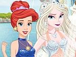 لعبة ضيوف زفاف الأميرات