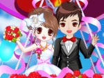 Romantic Wedding in the Sky Dress Up