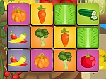 Vegetables memory game